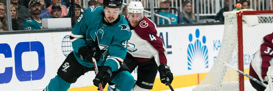 How to Bet Sharks vs Avalanche 2019 Stanley Cup Playoffs Spread & Game 4 Prediction