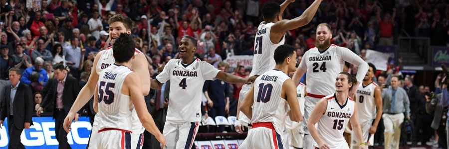 South Dakota State vs Gonzaga March Madness Odds, Free Pick & TV Info