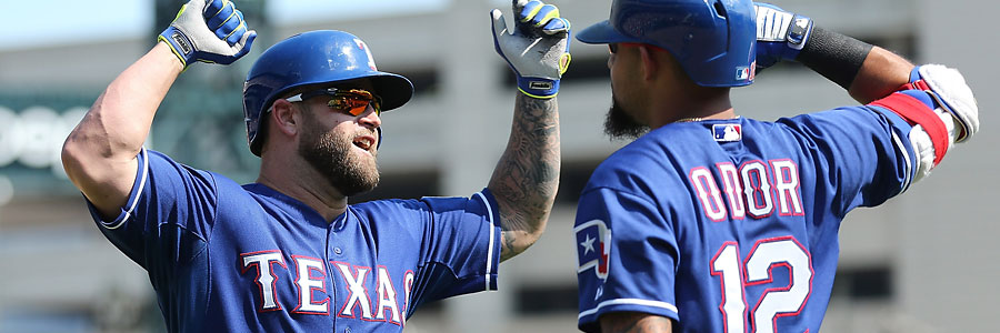 Texas Rangers vs LA Angels Friday MLB Betting Odds Preview