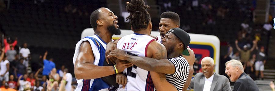 2019 BIG3 Basketball Week 7 Odds, Preview & Picks