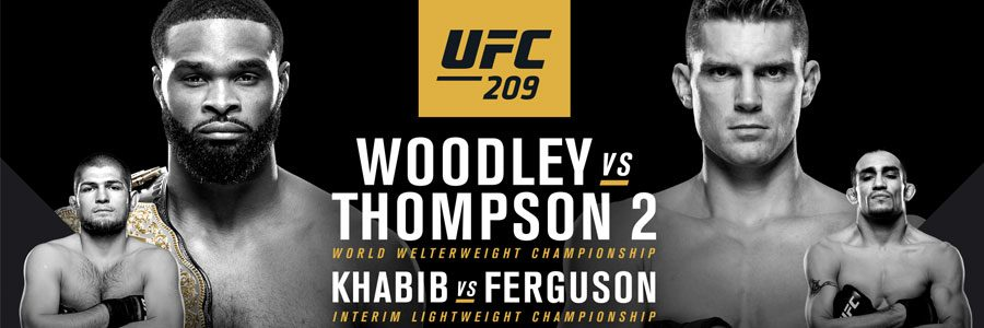 UFC 209 Main Card Betting Odds & Predictions