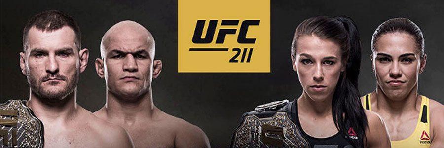 UFC 211 Main Card Betting Predictions & Picks