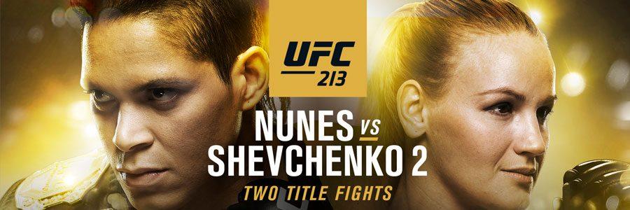 UFC 213 Nunes vs. Shevchenko 2 MMA Odds & Betting Prediction