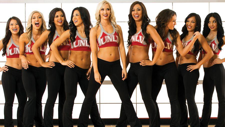 UNLV's cheerleaders.