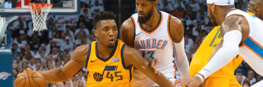 2018 Playoffs Preview: Jazz at Thunder Game 5 NBA Lines & Pick