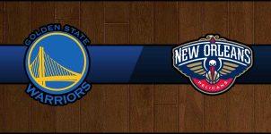 Warriors vs Pelicans Result Basketball Score