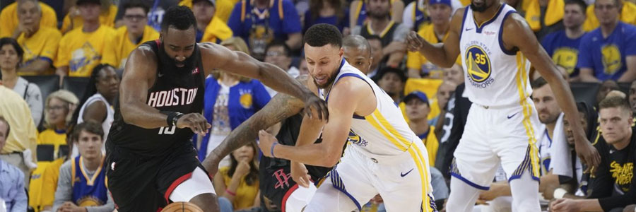 Warriors vs Rockets NBA Playoffs Game 2 Odds, Preview & Prediction