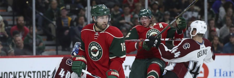 Washington at Minnesota NHL Lines, Free Pick & TV Info