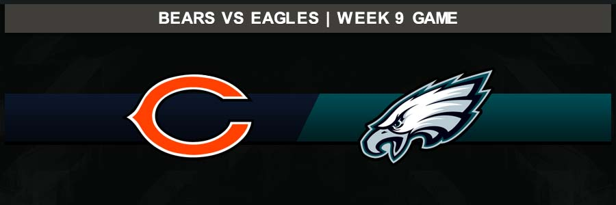 Bears @ Eagles Week 9 Result Sunday Football Score