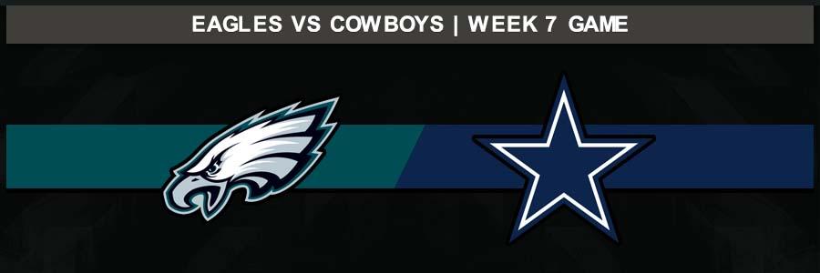 Eagles 10 @ Cowboys 37, Week 7 Result Sunday Football Score