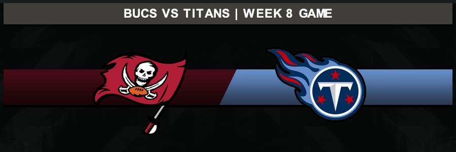 Buccaneers @ Titans, Week 8 Result Sunday Football Score
