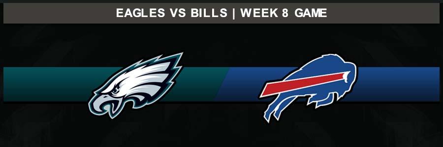 Eagles @Bills, Week 8 Result Sunday Football Score