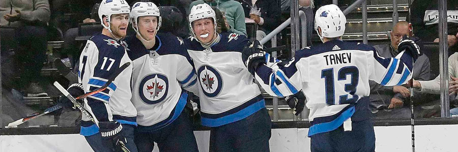 Jets vs Golden Knights NHL Betting Odds, Game Info & Preview
