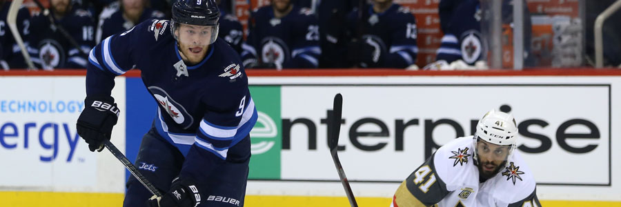 2018 NHL Playoffs Preview: Winnipeg at Vegas Hockey Odds for Game 3